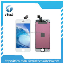 Wholesale Mobile Phone AAA LCD Digitizer Display for Apple Iphone 5G