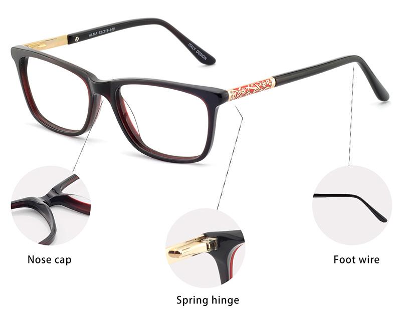 China großhandel 2018 neue jahr mode brillen optische rahmen vogue ...