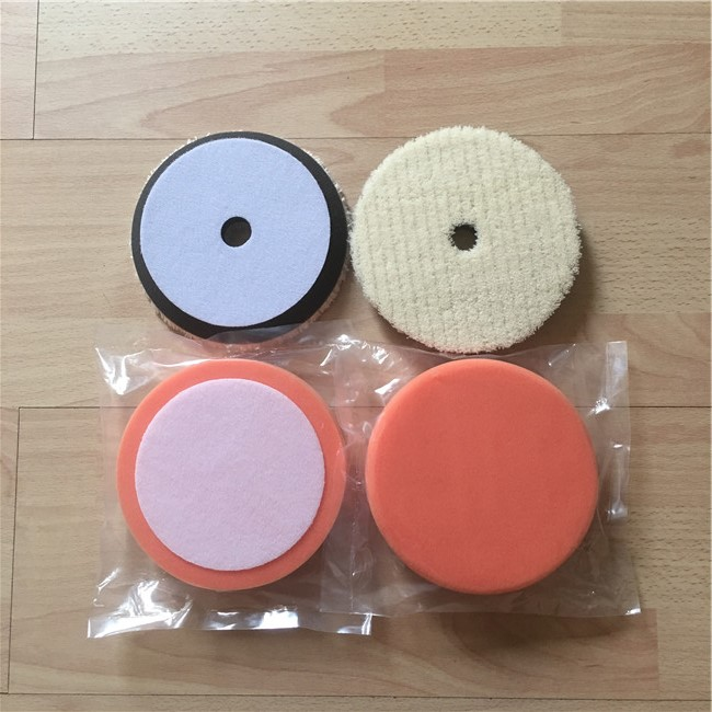 Wit Buffing Spons Polijsten Pad kit