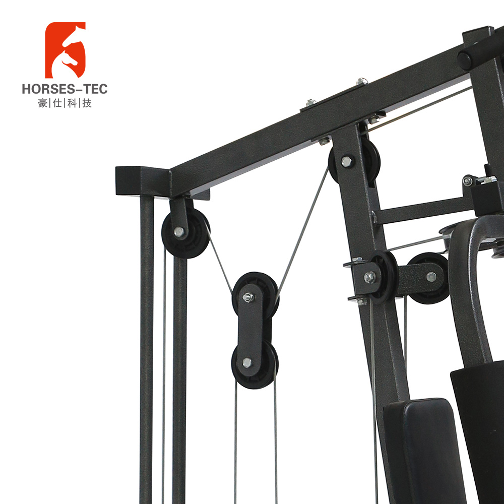 Heavy Duty Enkele Station Multi Home Gym Fitness Apparatuur