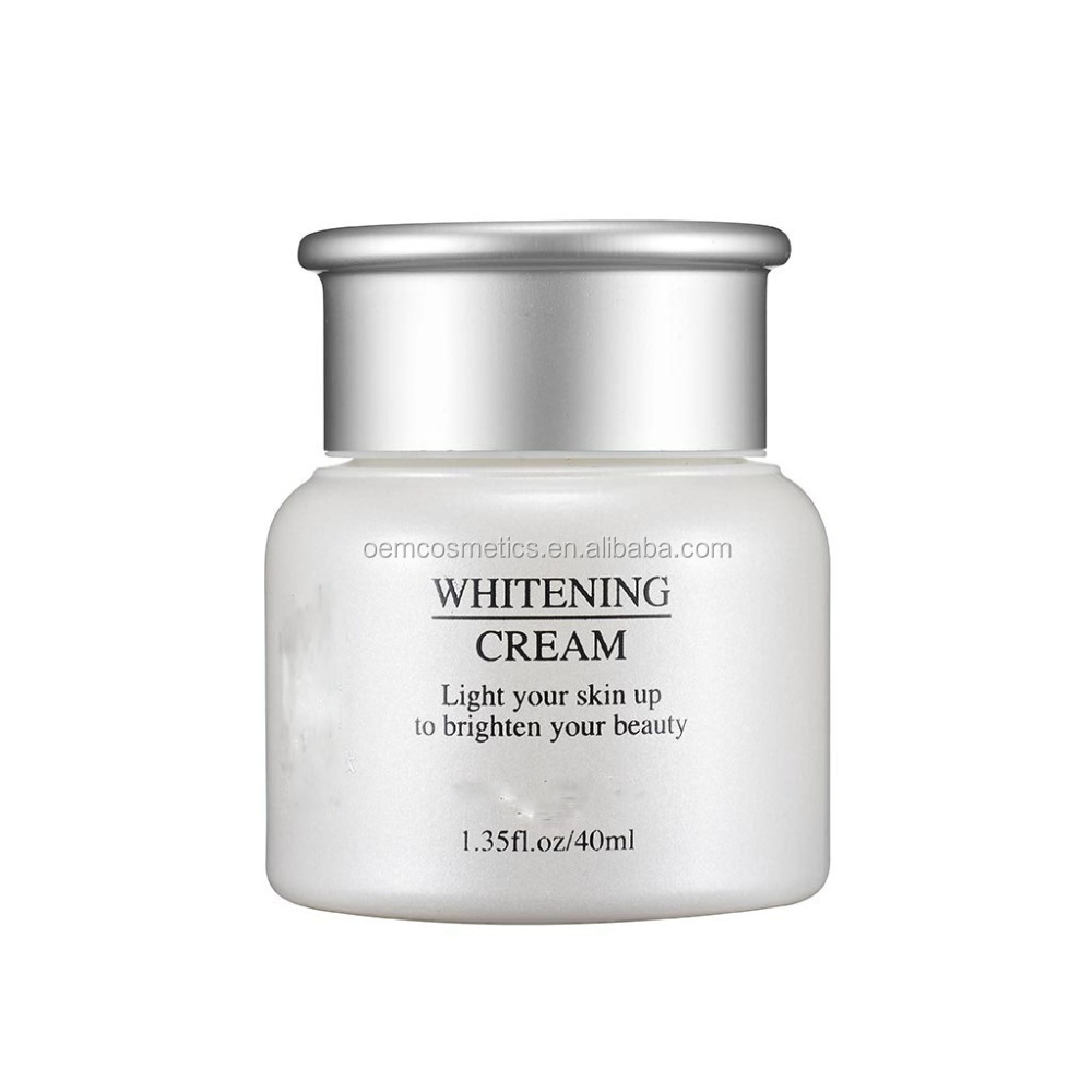 OEM Manufacturer Moisturizing and Whitening facial cream for skin Care