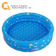 Custom folding blue round inflatable swim pool