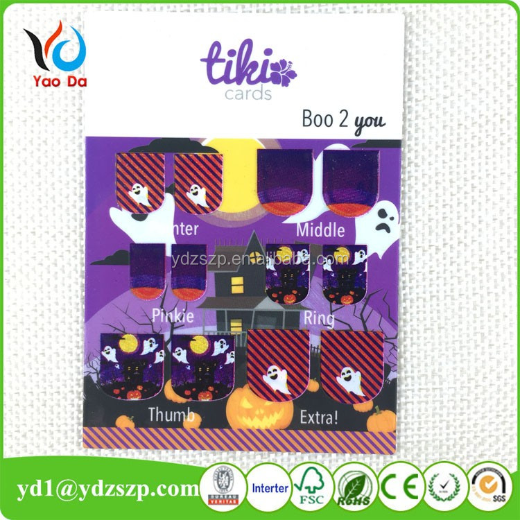 Nail art decoration halloween nail art sticker