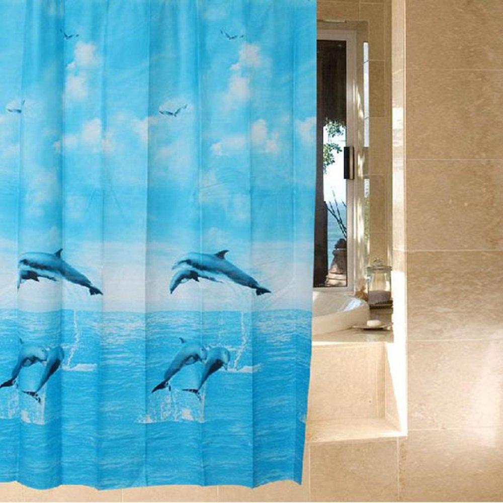 Cheap Light Blue Fabric Shower Curtain, find Light Blue Fabric ...