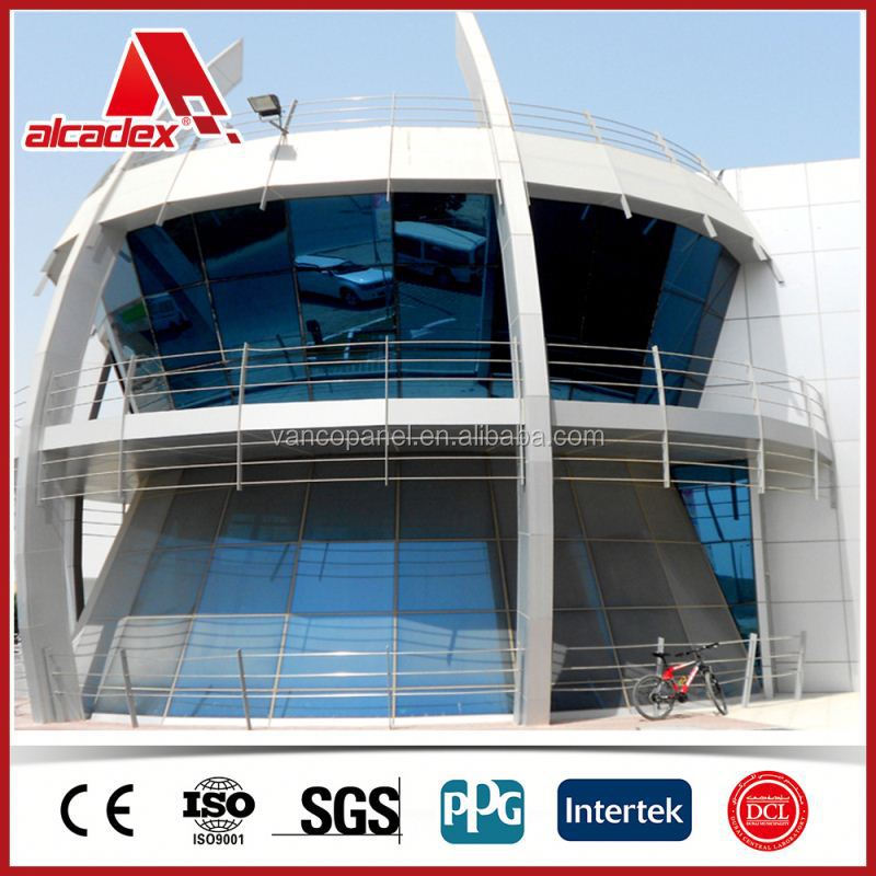 PE/PVDF coated aluminum composite panel fabricator