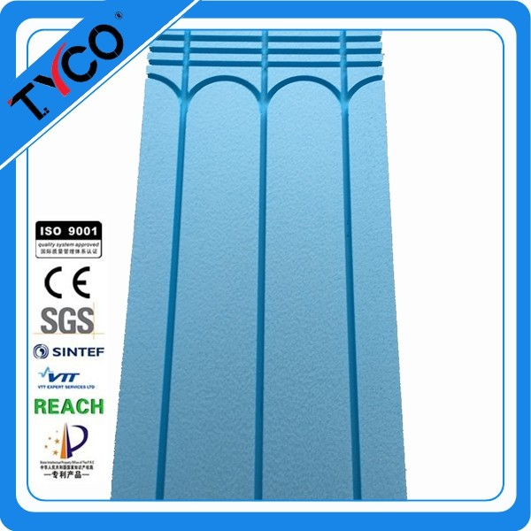 Hangzhou Tyco Good Quality Well Interior decoration XPS Underfloor Heating System