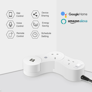 EP100-A3 wifi US /UK power strip Automation Phone Remote Control For Alex ,Rotatable 360 degree, Flexible Extension Socket