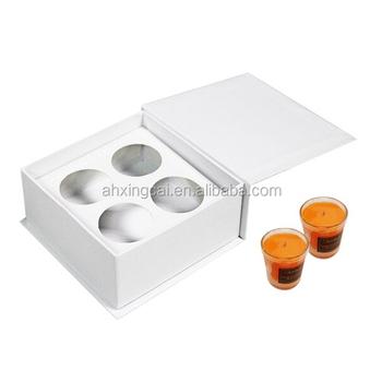Custom Design Paper Cardboard Candle Storage Box Packaging