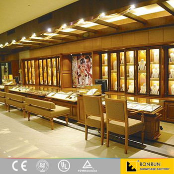 High End Fashional Jewellery Shop Names Decoration Showroom Design