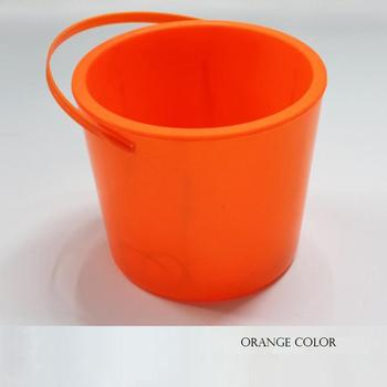 Halloween Buckets | Led Halloween Buckets Solid Colors Plastic Led Light Up Buckets With