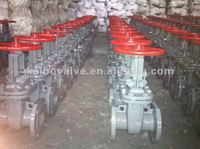 Gost rising stem wedge gate valve(PY16/25/40,Cast steel or stainless steel)