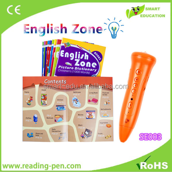 new colorful kids video talking pen, Real voice, recording,interactive games, OEM/ODM services
