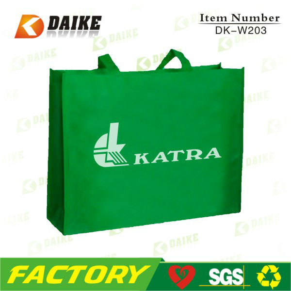 Hot Eco Promotional pp Non Woven Bag For Shopping DK-W203