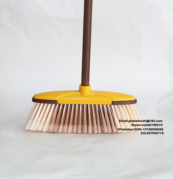 item no0153 chile market plastic soft broom for wood floor cleaning