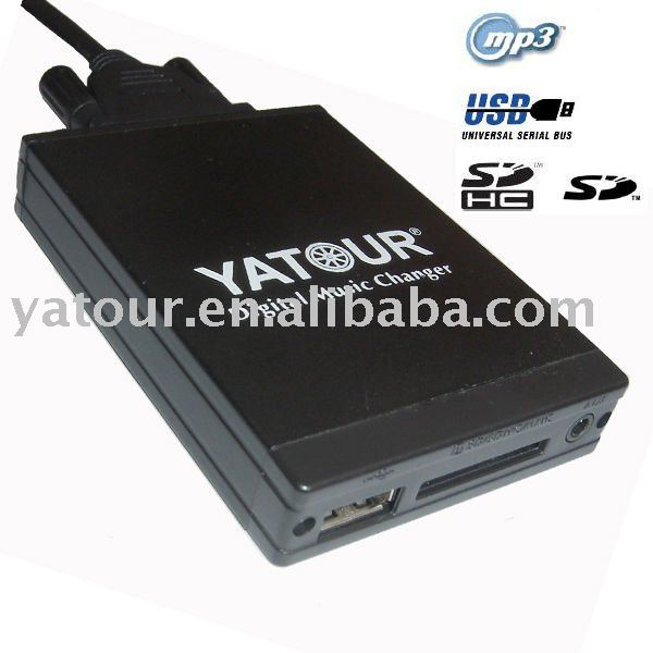 Car USB SD AUX MP3 Interface for BMW VW TOYOTA HONDA MAZDA FIAT, etc