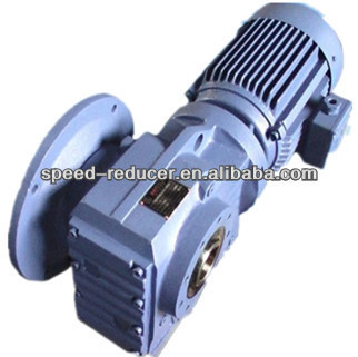 Helical worm gear reducer sew gear motor flange mounted for Hollow shaft gear motor