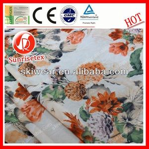 various pattern embroidered silk organza fabric made in china