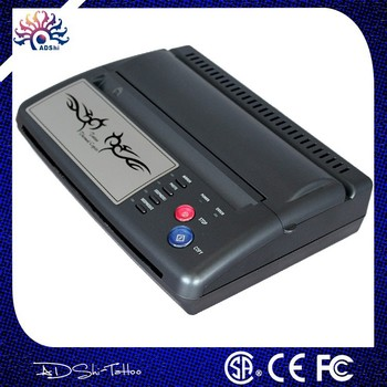 portable flash tattoo printer black mini tattoo thermal