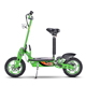 Big power 1600w 1800w 2000w bright green color lead-acid battery 48v outdoor electric scooter wholesale