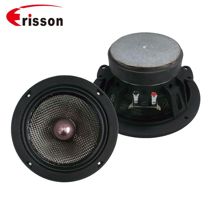 OEM Supplier Car Audio Speaker 4 Ohm 6.5 Inch Midbass Speaker for Car