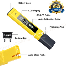 Hanan easy using home and factory low price drinking water ph meter