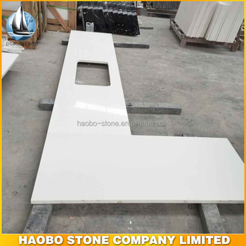 Hot Factory Price Precut White Quartz Countertop Fabricated Manufacturer