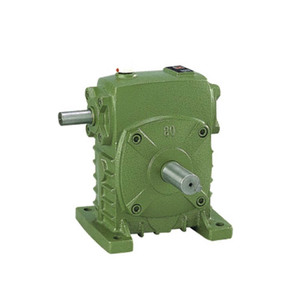 2018 high precision gear reducer with high precision and soft tooth surface of WPA worm and worm gear worm gear is greatly impro