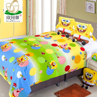 100% mulberry silk quilt with cartoon design for children Summer quilts