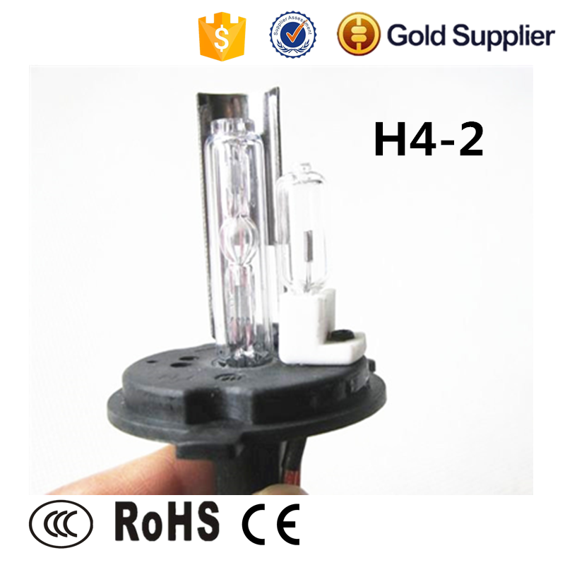 12v 35w DC/ AC car h4-2 /h4 low halogen high xenon hid lamp
