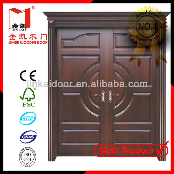 Wooden Double Panel Doors Design - Buy Wooden Double Panel Doors ...
