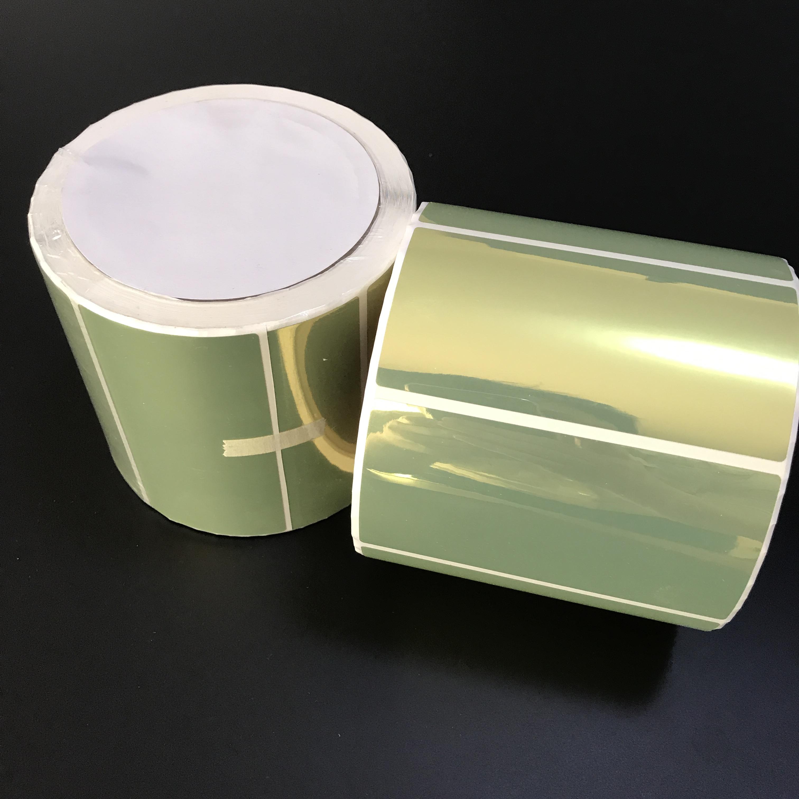 Glossy Golden Inkjet Label For Primera  Lx400,Lx500,Lx900,Lx2000,Tm-3500,C7500,Vp700,Afinia L801 - Buy Gold Inkjet  Label Roll Neuralabel 300x,Golden