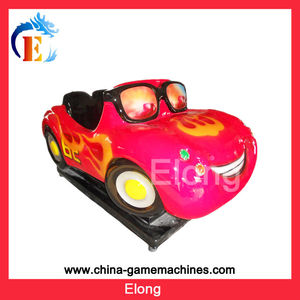 Hot selling fiberglass kiddie rides for sale amusement kiddie rides Red Car Kiddie Rides