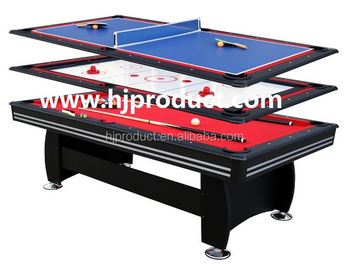 Delicieux Best Selling 3 In 1 Multi Game Table MDF Playfield Air Hockey , Table  Tennis ,