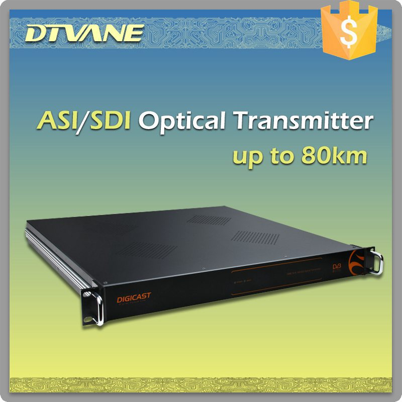 DMB-7018 ASI/SDI Optical Transmitter, transmit ASI/SDI signal over Optical Fiber, digital tv transmitter