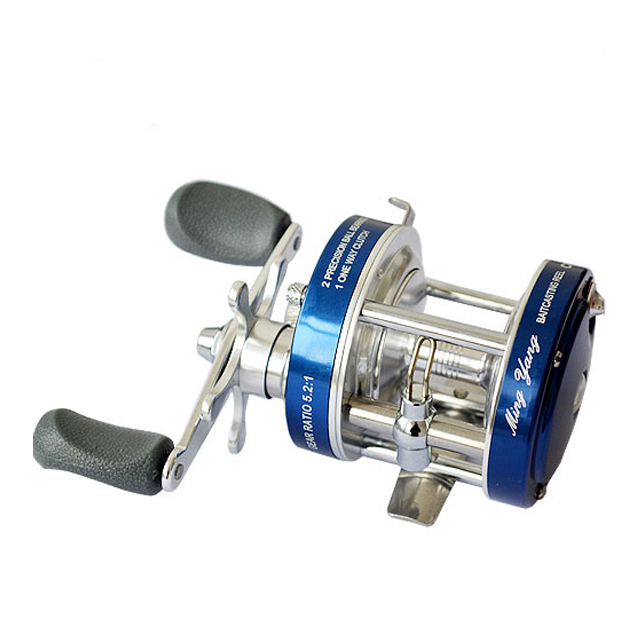 CL/CLA Left/Right Hand Baitcasting Fishing Reel Drum Reel, Random
