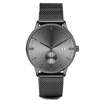 5 atm water resistant stainless steel watch