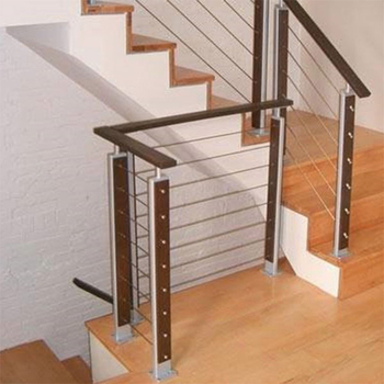 Modern Stainless Steel Stair Handrail Cable Wire Rod Railing For Outdoor Bracket Biscuit Joiner Gl Prices Balconies Product