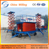 Hydraulic Lift Drive / Actuation and Screw Lift Mechanism Small Elevator