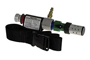 """Bullard® Hot/Cold Tube Assembly (Includes 1/4"""" Industrial Interchange Quick Disconnect Nipple, Adjustable Temperature Control, 4612 Nylon Belt And Heat Shield) (For Use With Compressed Air, 88VX, CC20, RT And GR50 Series Respirators)"""