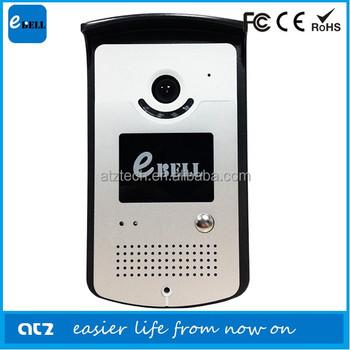 Atz-db003p Ebell Wifi Intercom System Apartment Wireless Audio ...