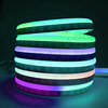 waterproof ip68 outdoor rgb led neon flex strip light dc24v