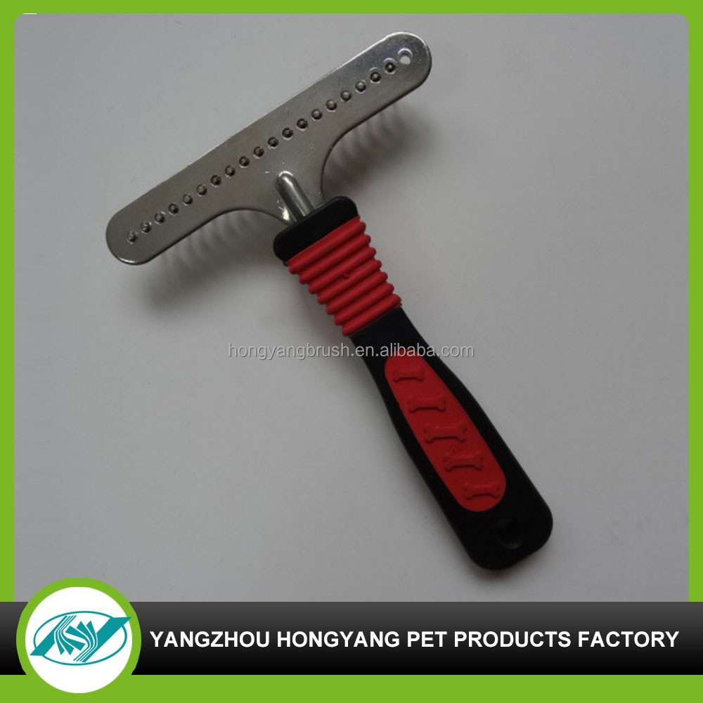 customized deshedding pet brush products for cat and dog grooming