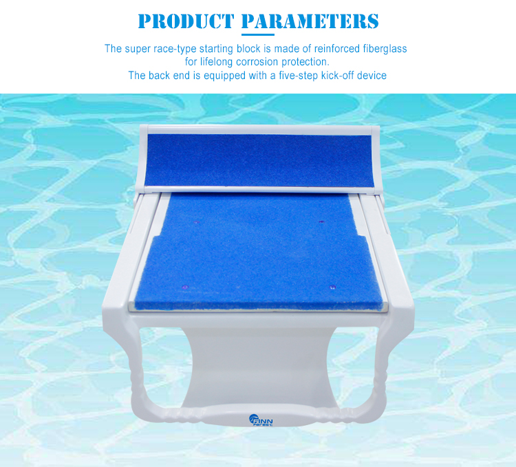 International Standard Swimming Pool Competitive Diving Platform Starting Blocks In Swimming