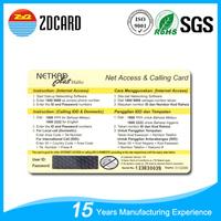 OEM/ODM alibaba black international calling cards