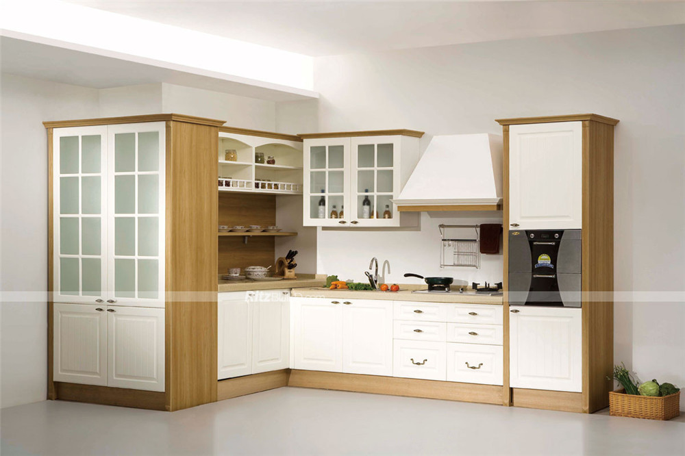 Pvc Type Waterproof Kitchen Cabinets - Buy Waterproof Kitchen ...