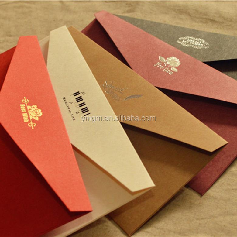 Matt Black Card Paper Envelope In A4 A5 B5 C5 C6 A3 Size With ...