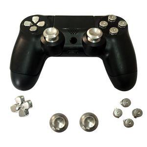 Full set Joystick metal button replacement kit for PS4 controller