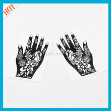 body tattoo template henna reusable stencils