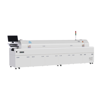 SMT Economical Reflow Soldering Machine Morel A8 with Eight zones