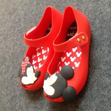 15 18cm summer mini Melissa style Mickey Minnie baby girls beach sandals children rubber pvc footwear